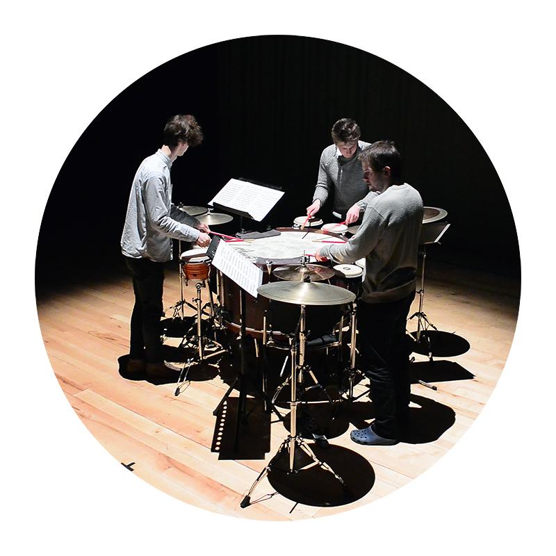 Drum set / multiperc.